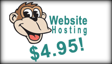 Web Site Hosting $4.95