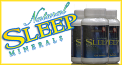 Natural Sleep Minerals