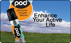 Personal Oxygen Device. Enhance Your Active Life
